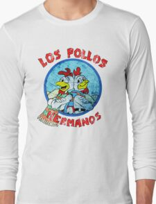 Los Pollos Hermanos Wink (retro) Long Sleeve T-Shirt