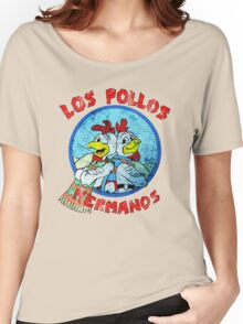 Los Pollos Hermanos Wink (retro) Women's Relaxed Fit T-Shirt