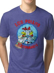Los Pollos Hermanos Wink (retro) Tri-blend T-Shirt