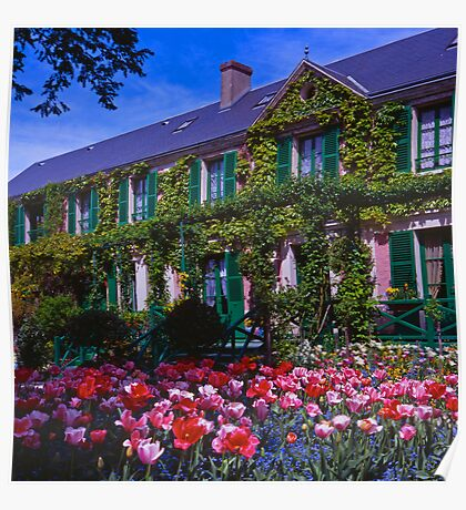 Chez Claude Monet, Giverny Poster