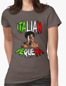 ZE PEQUENO H++ CLOTHING Womens Fitted T-Shirt
