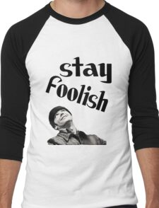 STAY FOOLISH H++ CLOTHING Men's Baseball ¾ T-Shirt