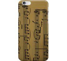 Iphone case 'Sheet music' iPhone Case/Skin