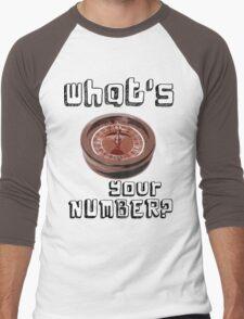 ROULETTE H++ CLOTHING  Men's Baseball ¾ T-Shirt