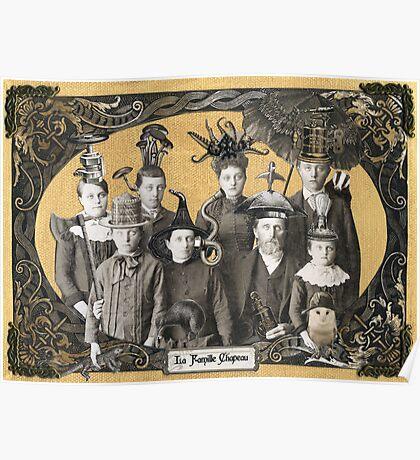 La Famille Chapeau - Portrait of an Odd Family Poster