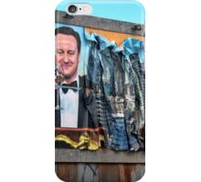 Dismaland - 'Shove' - Cameron Billboard iPhone Case/Skin