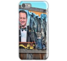 Dismaland - 'Shove' - Cameron Billboard iPhone Case/Skin