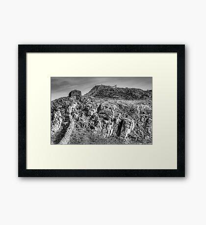 Rugged. Framed Print