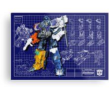 Energon Optimus Prime Metal Print