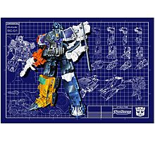 Energon Optimus Prime Photographic Print