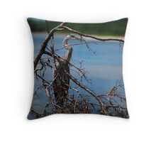 lunch at oyster catchers Throw Pillow