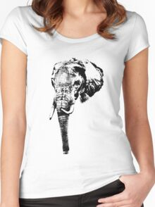 Elephant Women's Fitted Scoop T-Shirt