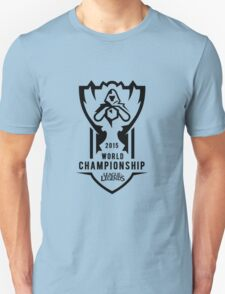 2015 World Championship League Of Legends Shirt T-Shirt