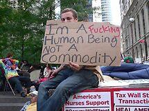 Wall Street Occupy 1 by Kodachrome 25 ASA
