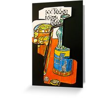 at dome iced tea Greeting Card