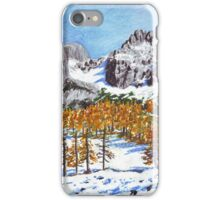 Golden Larches of Dachstein iPhone Case/Skin