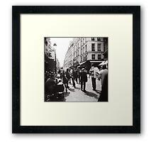 Promenons-nous Framed Print