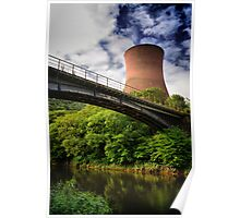 Ironbridge Power Station, Shropshire, England Poster