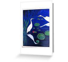 Reflecting Pool Greeting Card