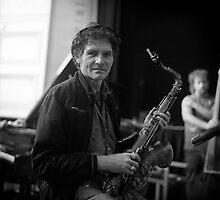 The Saxophonist Neill Duncan by Joe Glaysher
