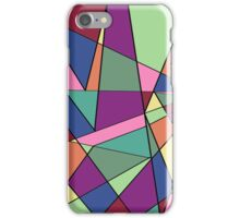 Coloured Shattered Pattern  iPhone Case/Skin