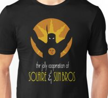 THE JOLLY COOPERATION OF SOLAIRE & SUN BROS (BATMAN THE ANIMATED SERIES PARODY) Unisex T-Shirt