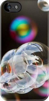 Bubbles - iPhone Case by Yannik Hay