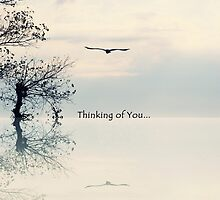 Greeting Card-Thinking of You by kristijohnson