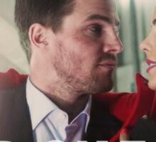 OLICITY SEASON 1 | Oliver Queen and Felicity Smoak | Hold on to Me Sticker
