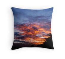 Dreamy Sky Throw Pillow
