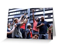 Occupy Wall Street General Assembly  Greeting Card