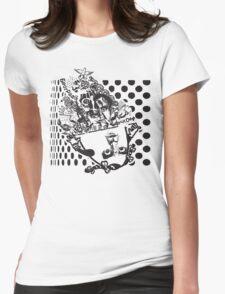 Polka Hermaphrodot Womens Fitted T-Shirt