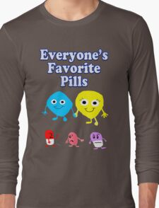 Everyone's Favorite Pills Humor Long Sleeve T-Shirt