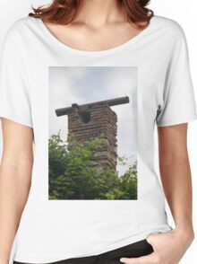old building Women's Relaxed Fit T-Shirt