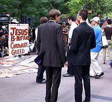 Jesus Destroys the Market in the Temple by jimmyjimmyhere
