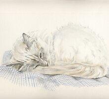 Lazy Fleur by MoniqueGeurts