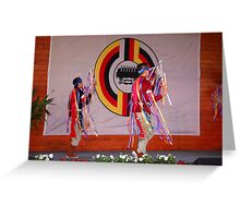 Native Dancers !! Greeting Card