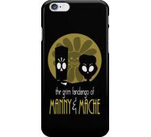 THE GRIM FANDANGO OF MANNY & MACHE (BATMAN THE ANIMATED SERIES PARODY) iPhone Case/Skin