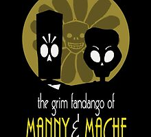 THE GRIM FANDANGO OF MANNY & MACHE (BATMAN THE ANIMATED SERIES PARODY) by TheReverie