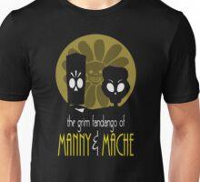 THE GRIM FANDANGO OF MANNY & MACHE (BATMAN THE ANIMATED SERIES PARODY) Unisex T-Shirt