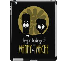 THE GRIM FANDANGO OF MANNY & MACHE (BATMAN THE ANIMATED SERIES PARODY) iPad Case/Skin