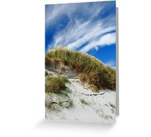Head of grass Greeting Card