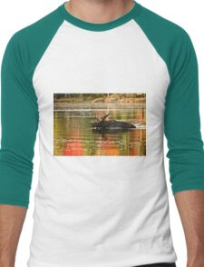 Bull Moose Crossing Creek Men's Baseball ¾ T-Shirt