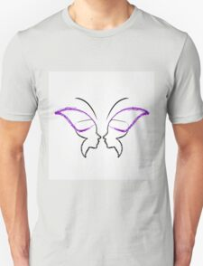 Face of a lady and butterfly T-Shirt