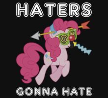 Pinkie Pie haters gonna hate with Text Kids Clothes