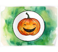 Halloween Jack-o'-lantern Poster