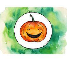 Halloween Jack-o'-lantern Photographic Print