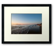 Sunrise over Dunk Island Framed Print