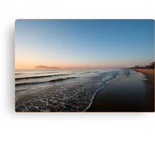 Sunrise over Dunk Island Canvas Print
