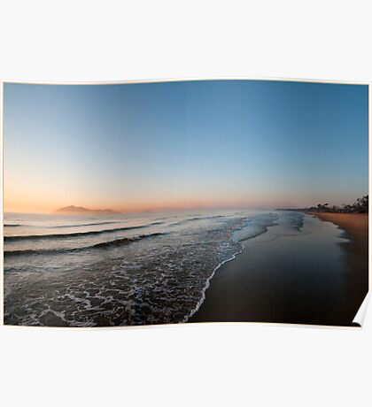 Sunrise over Dunk Island Poster